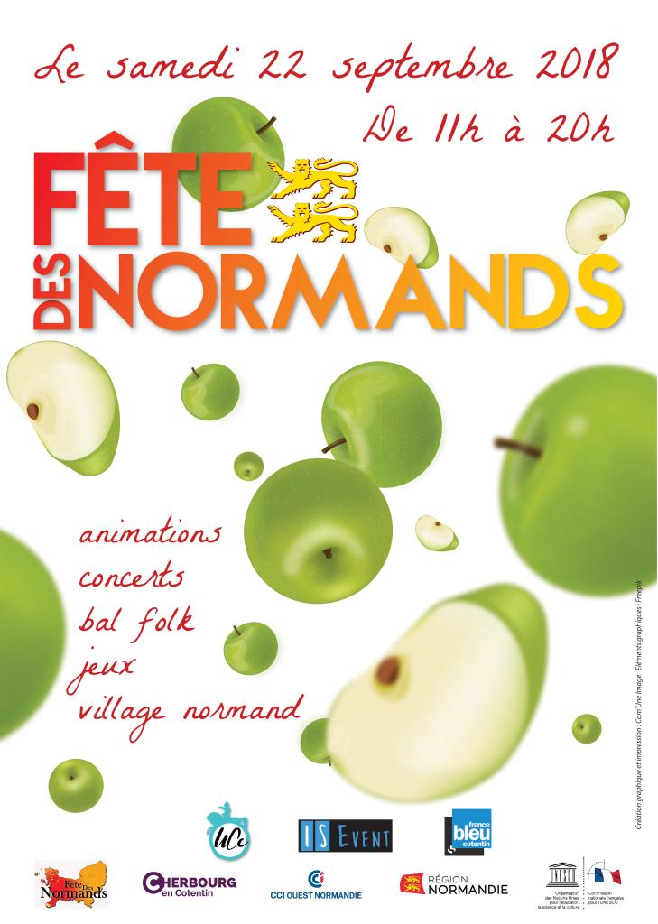 Affiche Fête des normands 2018
